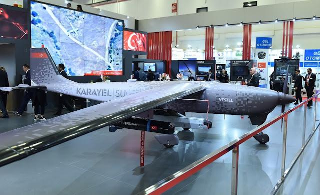 الطائرة بلا طيار KARAYEL من شركة Vestel  uav drone
