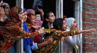 Save Kashmiri women left on the mercy of the Hindu soldiers