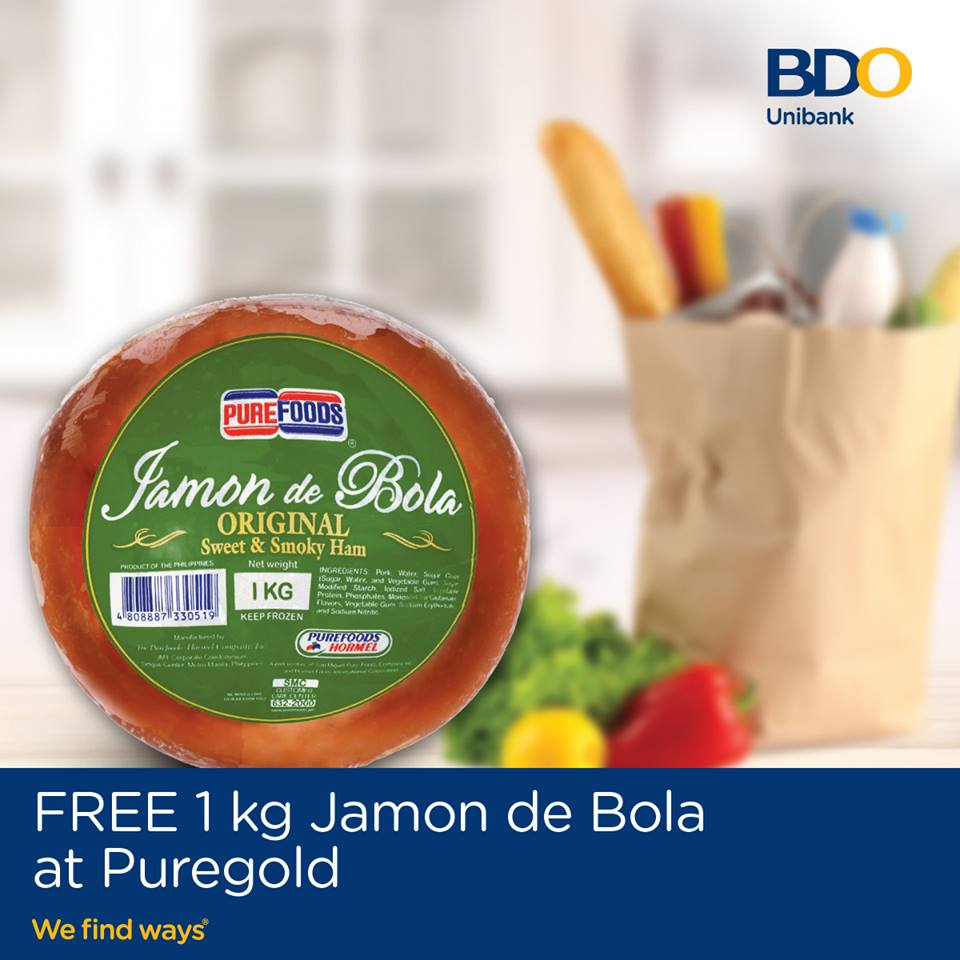 Free Jamon De Bola At Puregold Supermarket