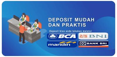 Cara deposit saldo pulsa via bank