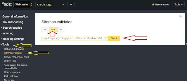 Cara Terbaru Mendaftarkan Blog di Yandex