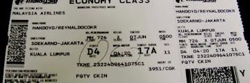 Inilah Arti Kode Huruf Pada Boarding Pass
