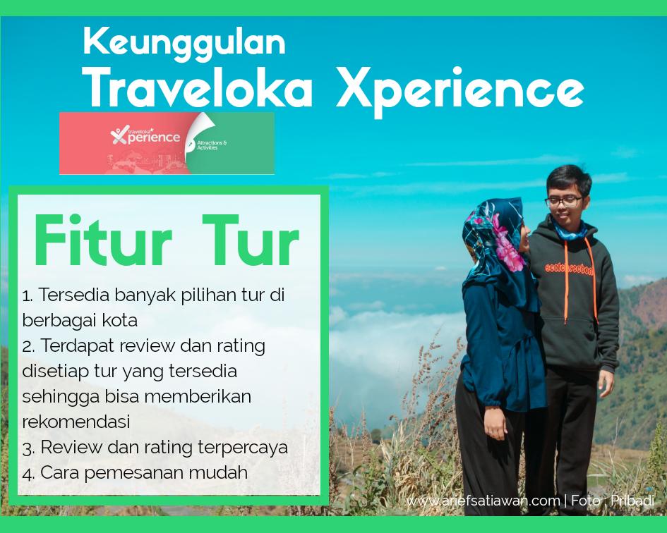 tur dengan traveloka xperience