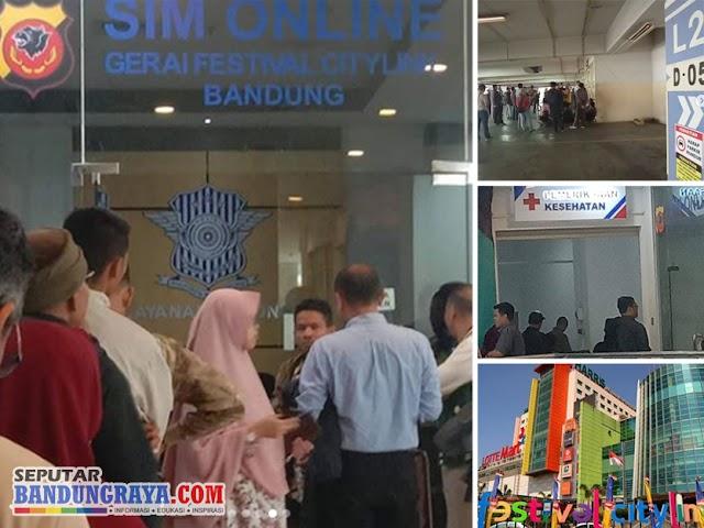 Pengalaman Memperpanjang SIM di Gerai SIM Mall Festival Citylink Jalan Peta Bandung