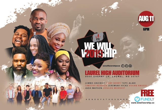 Livin' It Out Presents: 'We Will Worship 2019' Feat. Jumbo Aniebiet, Timothy Reddick & More!