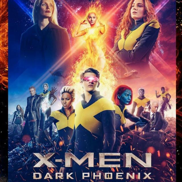 Download X-Men Dark Phoenix Full Movie (2019)Dual Audio iMdB