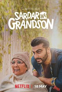Arjun Kapoor, Rakul Preet Singh, Neena Gupta, John Abraham, Aditi Rao Hydari movie Sardar Ka Grandson release Poster, star cast