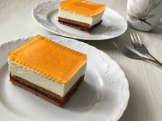 Ciasto z galaretką bez pieczenia