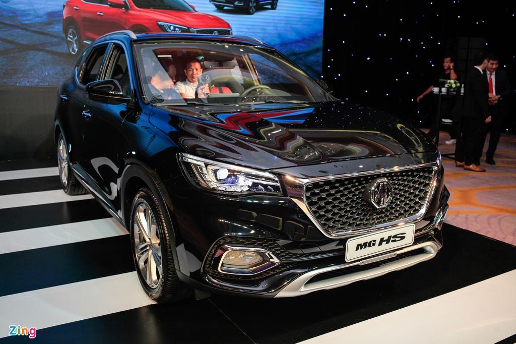 MG HS có giá từ 788 triệu tại VN, cạnh tranh CX-5 và Corolla Cross