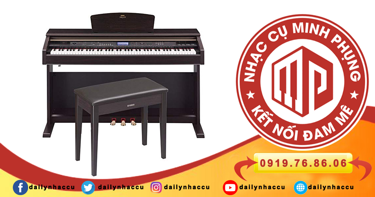 Đàn piano điện Yamaha CVP series 8 vượt trội hơn series 7 thế nào?