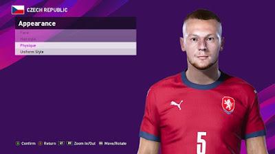 PES 2021 Faces Vladimír Coufal by SR