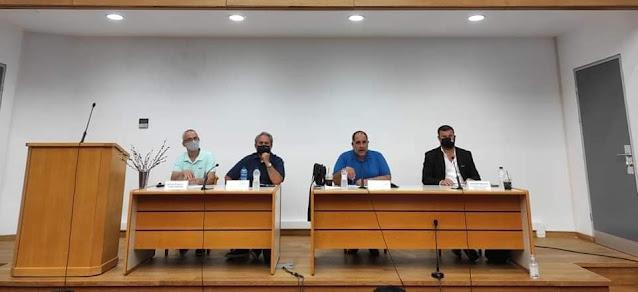 Συνεδρίαση του Διοικητικού Συμβουλίου της Ομοσπονδίας Εμπορίου και Επιχειρηματικότητας Πελοποννήσου