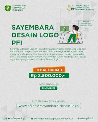 Lomba Desain Logo PFI Berhadiah Uang Tunai Jutaan Rupiah