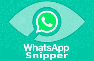 Whatsapp Snipper adalah aplikasi untuk sadap akun whatsapp orang lain pada 1 jaringan yang sama. Download WHatsapp Snipper APK versi terbaru 2019.