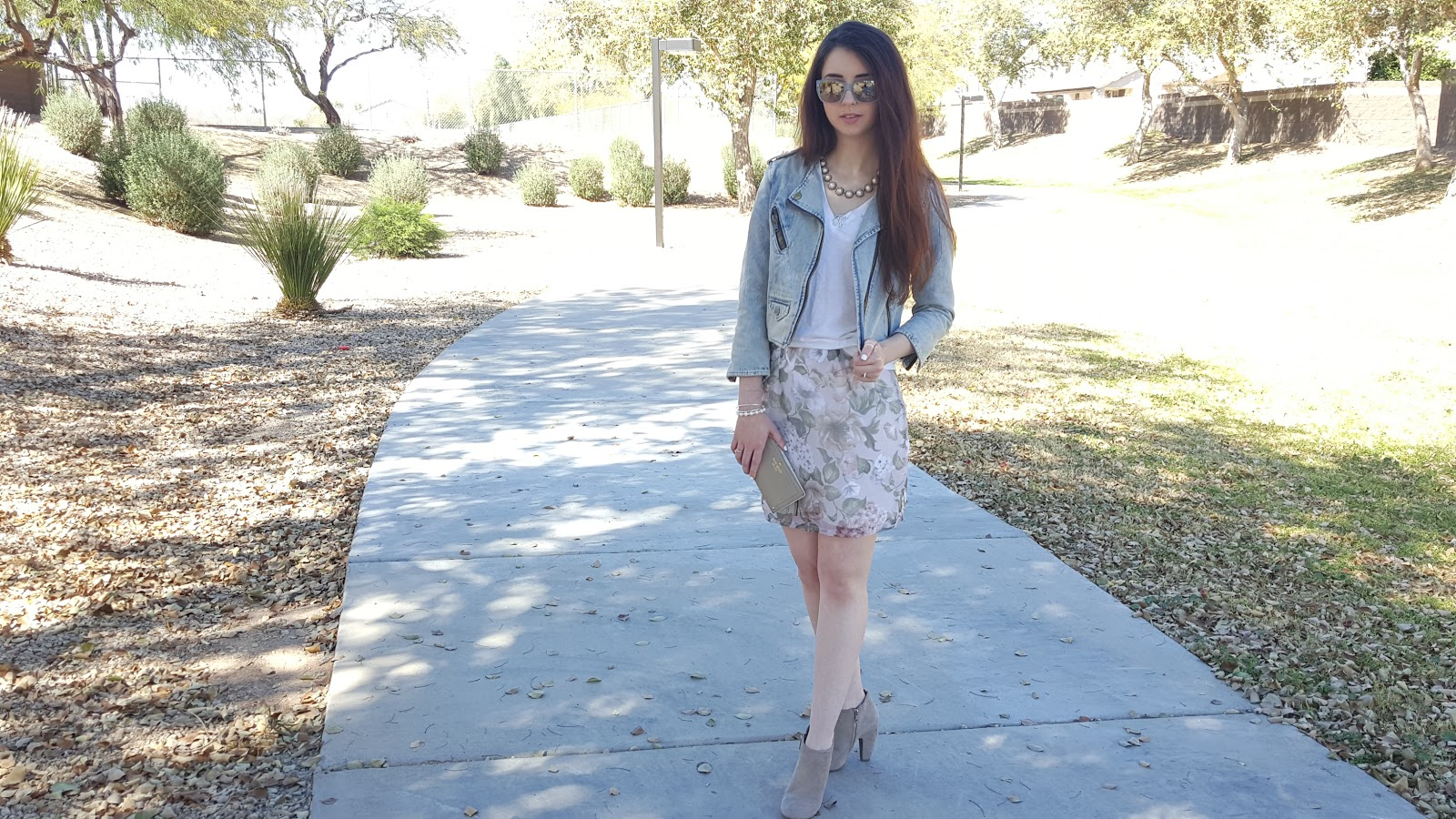 light pastel spring transition outfit