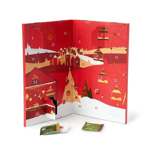 A Christmas Advent Calendar filled with tea