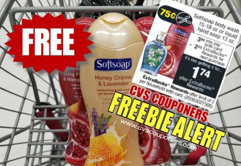 FREE Softsoap Body Wash CVS Deal  721-727