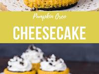Pumpkin Oreo Cheesecake