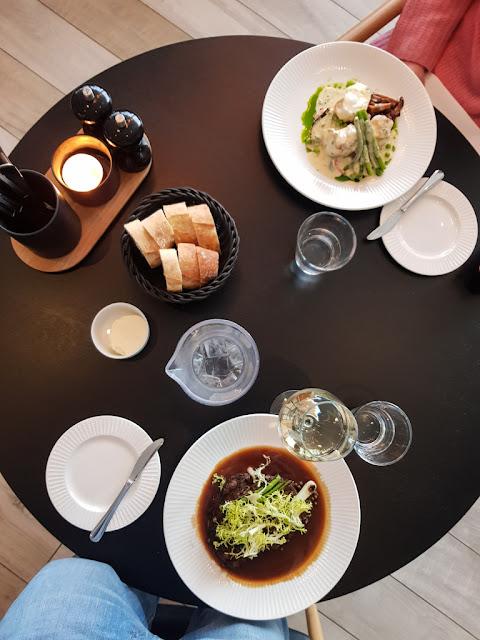 Hotel Hilton Garden Inn-Isole Faroe-Cena al ristorante