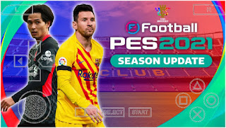 Download PES 2021 PPSSPP LITE Android Offline Best Graphics Realistic & Update Latest Transfer