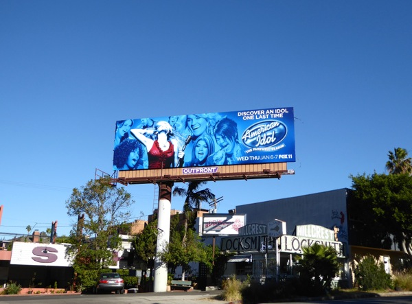 American Idol season 15 billboard
