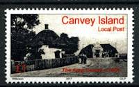 Canvey Local Post King Canute Pub Stamp