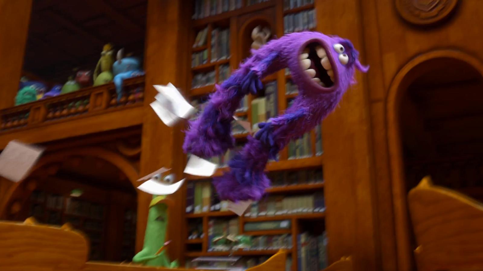 Monsters University Quot Acceptance Letter Quot Spot Pixar Post