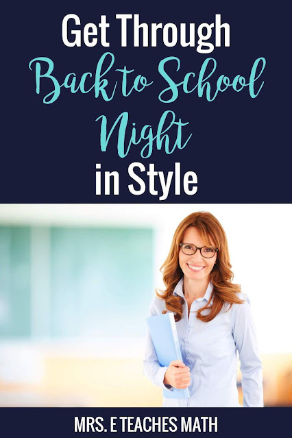 Do you need ideas for back to school night for teachers? These tips will have your back to school night routine running smooth!