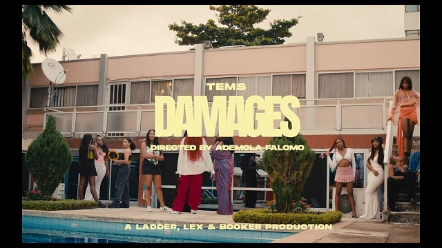 """Tems Releases Official Virtual for New Track """"Damages"""" off her EP"""