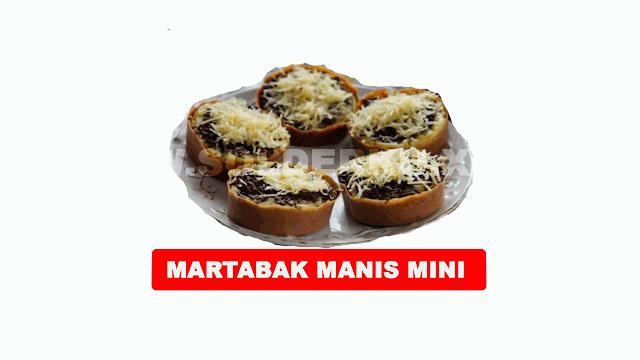 RESEP MEMBUAT MARTABAK MANIS MINI