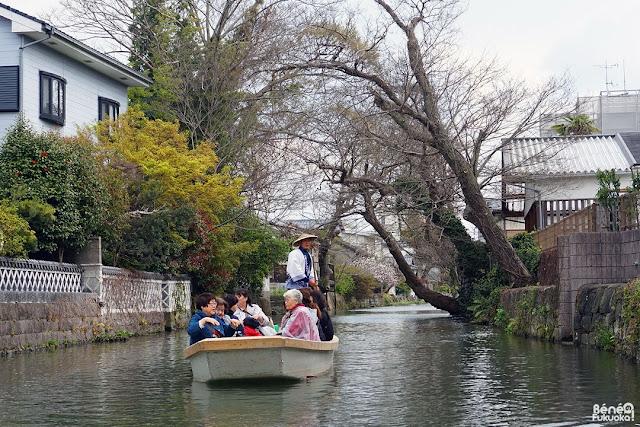 川下り、柳川、福岡
