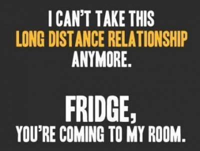 funny fridge relationship with man