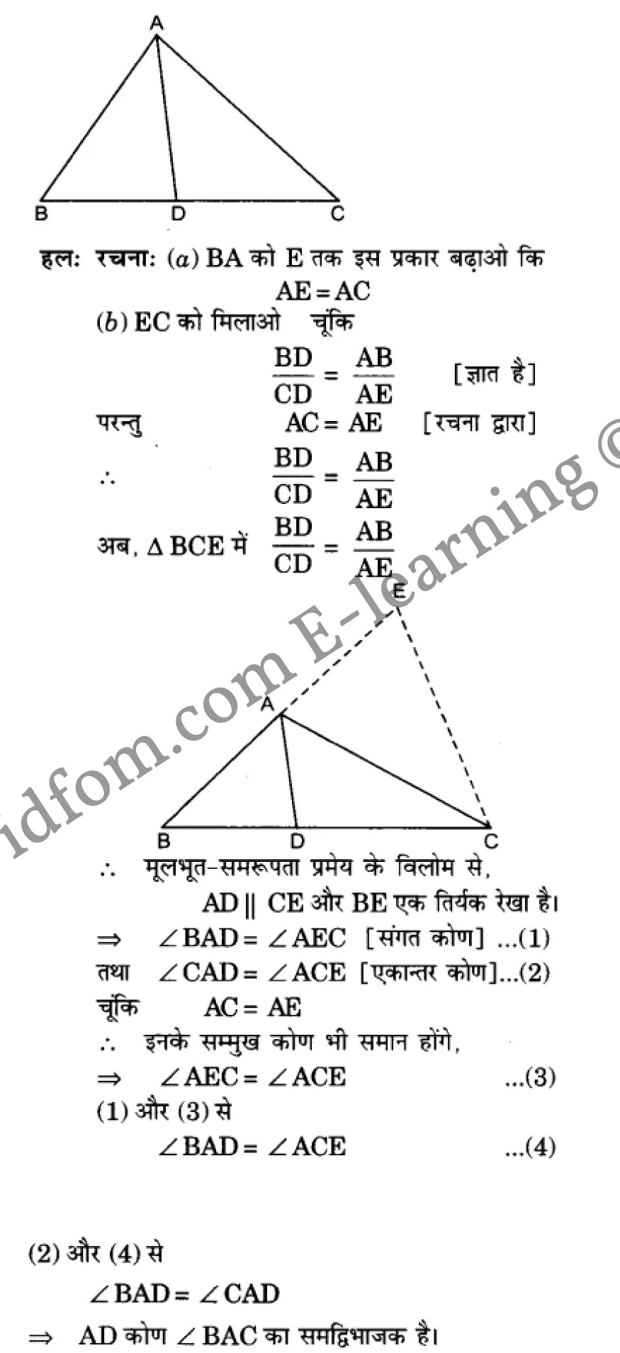 class 10 maths chapter 6 hindi medium 72