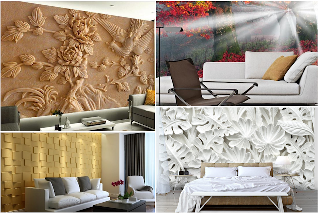 3D Wallpapers For Home Design In Attractive Pictures