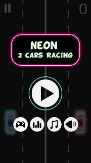 Screen1 Neon 2 Cars Racing – Android App Featured Review Apps