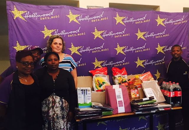 Kids Haven - Hollywoodbets Boksburg - Donation - Grocery items - bedding