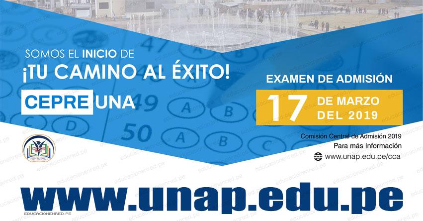 Resultados CEPREUNA 2019 (Examen Domingo 17 Marzo) Lista de Aprobados - Postulantes Aptos - CEPRE UNA - CCA UNAP - Universidad Nacional del Altiplano de Puno - www.unap.edu.pe