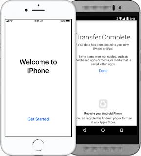 Cara ganti sistem operasi Dari Android ke iPhone