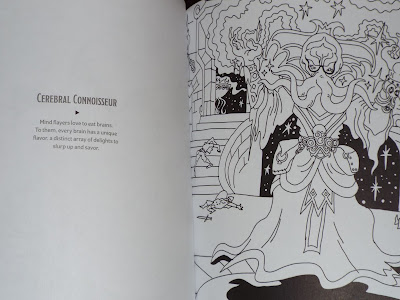 Adventures Outlined Colouring Book Mind Flayer