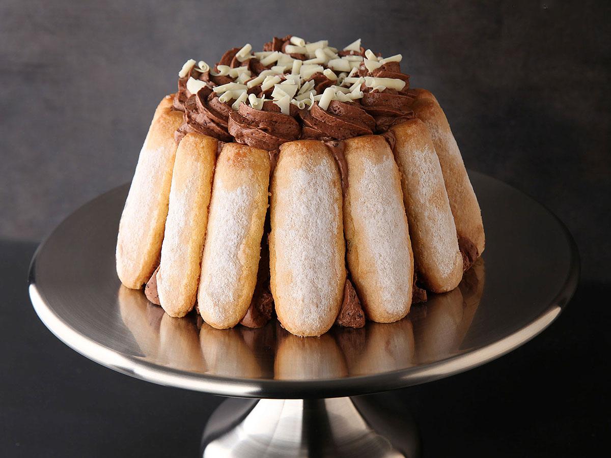 Decoration Gateau Charlotte Au Chocolat : Sos recette charlotte chocolat