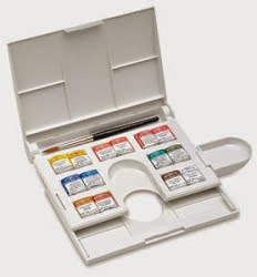 Travel Watercolor Paint Set