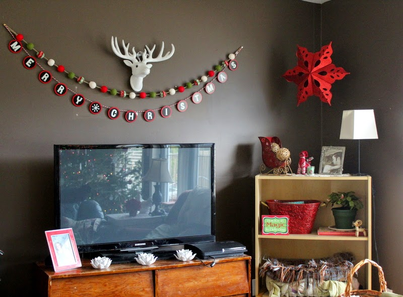 Throw-back Thursday ~ Our Christmas Home Tour 2014