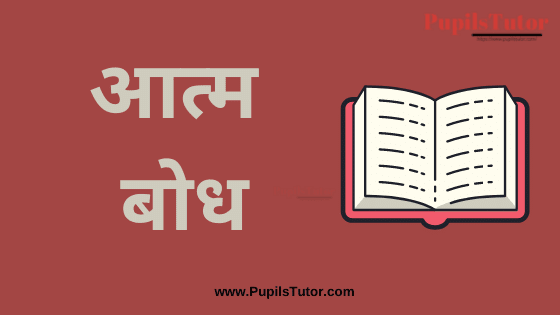 (आत्म बोध) Understanding the Self and Identity Book, Notes and Study Material in Hindi Medium Free Download PDF for B.Ed 1st 2nd Year and All Courses   Understanding the Self PDF Book in Hindi   Understanding the Self and Identity PDF Notes in Hindi   Understanding the Self and Yoga PDF Study Material in Hindi for B.Ed