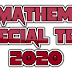 10th Mathematics special Test  for Exam Preparation 2020: