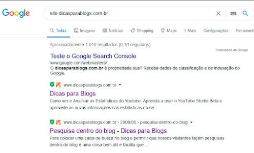 como aparecer nos resultados do google