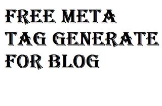 Meta tag description generator for blogger-Easy tutorial