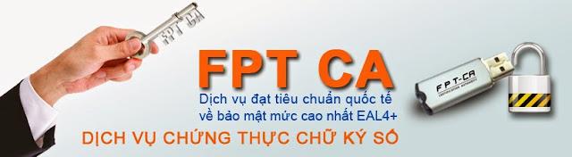 báo giá chữ ký số FPT