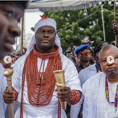 Ooni Of Ife Recreates Photo Of 4th Ooni Who Was Transformed Into A Deity