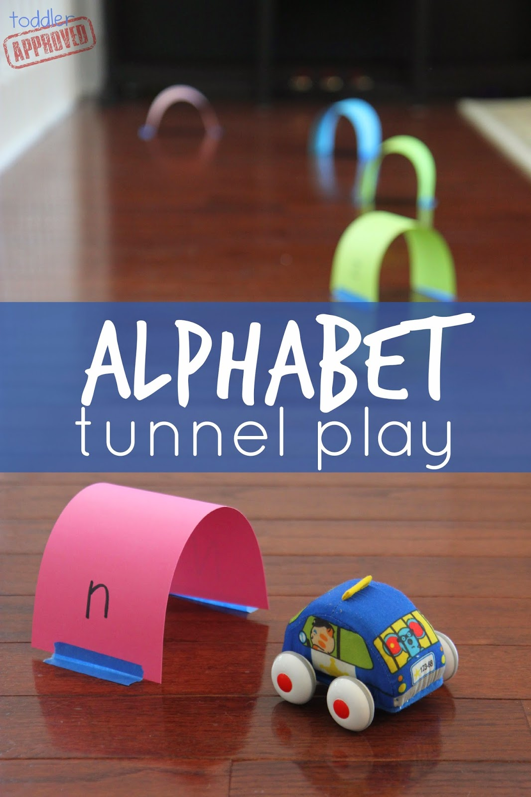 Toddler Approved Alphabet Tunnel Play Amp Learning