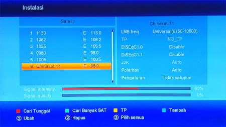 cara menambah satelit di receiver matrix burger s2 hd